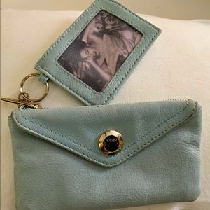 Junior Drake Wallet  in Powder Blue